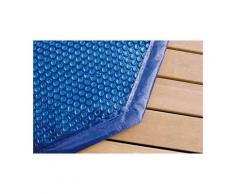 Bâche à bulles pour piscine bois Ubbink octogonale allongée Modèle - Ocea 6,10 x 4,00m octogonale