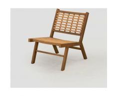 SKLUM Chaise de jardin en osier synthétique Ayat Polyéthylène - NATUREL