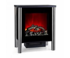 Klarstein Copenhagen Cheminée électrique chauffage 950W 1900W thermostat - noir