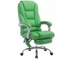 Fauteuil de bureau Pacific V2 avec Fonction massage vert