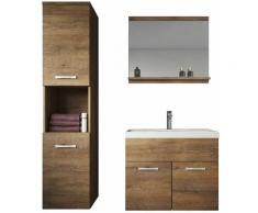 Meuble de salle de bain Montreal 60 cm lavabo Lefkas - Armoire de rangement Meuble lavabo evier
