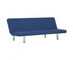 Canapé-lit Bleu Polyester