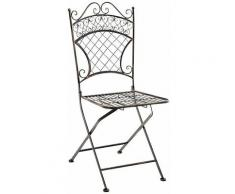 CLP - Chaise de jardin Adelar bronze
