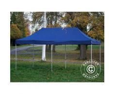 Tente pliante Chapiteau pliable Tonnelle pliante Barnum pliant FleXtents Xtreme 50 3x6m Bleu foncé