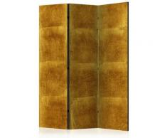 Paris Prix - Paravent 3 Volets golden Cage 135x172cm
