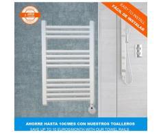 Climaspain - Radiateur Sèche-Serviette Électrique MALLORCA • Porte-Serviettes Électriques Blanc 400W