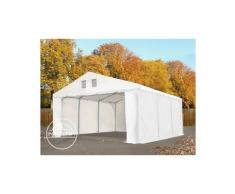 Intent24.fr - 5x16m Tente de stockage INTENT24, PVC env. 550 g/m², H. 2,6m