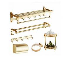 Perle Rare - Porte-serviettes étagère de salle de bain WC salle de bain porte-serviettes WC support