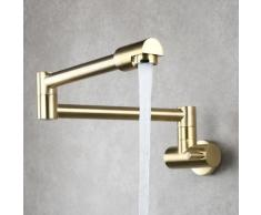 Triomphe Inwall Robinet Watertap Cuisine Évier Chaud Et Froid Robinet Lavabo Lavage Piscine Rotatif