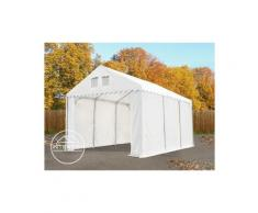 Intent24.fr - 4x8m Tente de stockage INTENT24, PVC env. 550 g/m², H. 2,6m