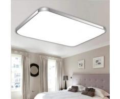 Betterlife - LED Acrylique Plafonniers Moderne Simple Rectangulaire En Aluminium Cadre Smart