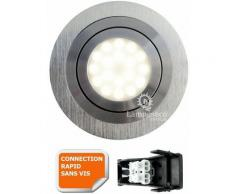 SPOT LED ENCASTRABLE ORIENTABLE 5W eq. 50W, BLANC FROID ref.64856000