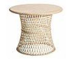 Sellette Bambou naturel - TANAR - L 61 x l 61 x H 50