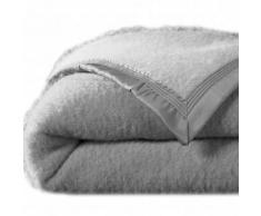 Couverture bicolore laine 500g/m2 - gris