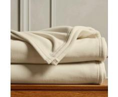 Couverture polaire Thermotec® qualité luxe 450g/m2 - écru
