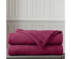 Couverture polaire Thermotec® qualité luxe 450g/m2 - prune