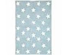 Tapis lavables pour enfants Bambini Stars Bleu 120x180 cm - Tapis lavable pour chambre d'enfants/bébé