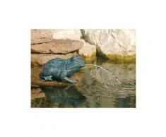 Figurine de bassin en polyrésine gargouille petite grenouille