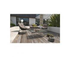 Salon jardin design sidney en inox