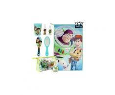 Accessoires de toilette de voyage pour enfant bleu clair (6 pcs) - brosse serviette toys story