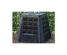 Composteur en plastique noir 400l