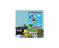 Rideaux la maison de mickey et ses amis disney-voilage : 140x245 cm