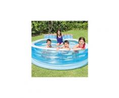 Piscine gonflable swim center family lounge pool 57190np