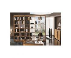 Bibliothèque grandes dimensions en frêne