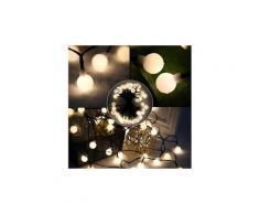 Guirlande lumineuse d'exterieur guirlande lumineuse a boule solaire billy solar - lumiere blanc - 60 boules - 700 cm