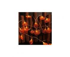 Fantastique citrouille led guirlandes halloween décoration accessoires lampe horreur ampoule led