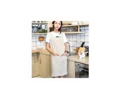 Femmes draps en coton croisé dans le dos tablier japonais cuisine housework wrap pinafore bg 2163