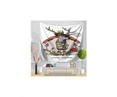 Fête de noël tapisserie tenture décoration intérieure couvre-lit rideau de douche 869