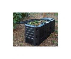 Composteur en plastique noir 1200l