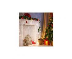 Dreamhouse Flash Guirlande lumineuse de Noël 16m 320x LED Effet flash - blanc glacé