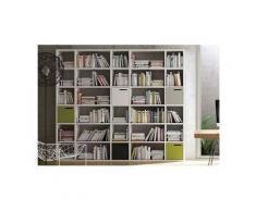 Pombal bibliothèque xl blanche