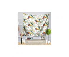 Fête de noël tapisserie tenture décoration intérieure couvre-lit rideau de douche 870