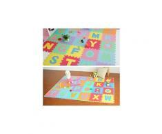 Numbers 36pc alphabet eva sol tapis de jeu pour bébé chambre abc puzzle en mousse 853