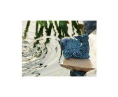 Figurine de bassin en polyrésine gargouille petit poisson