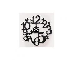 Horloge murale en plastique d.45 cm pip