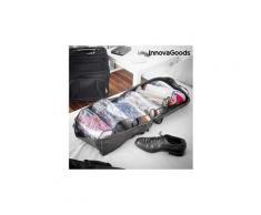 Sac de voyage pour chaussures en polyester et pvc - sac de rangement chaussures 6 paires