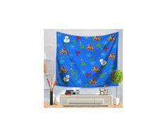 Fête de noël tapisserie tenture décoration intérieure couvre-lit rideau de douche 608