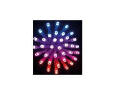Guirlande lumineuse extérieure 300 led multicolore - dim : 30m de lumière -pegane-