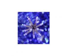 Guirlande lumineuse extérieure 300LED LUX Bleu, 18 mètres -PEGANE-