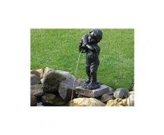Figurine de bassin en polyrésine gargouille yannick petit enfant