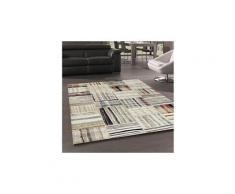 Tapis grand dimensions berber morocco carre beige 60 x 110 cm tapis de salon moderne design par unamourdetapis