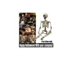 Articulé squelette humain décoration halloween party prop décoration article de décoration pealer 110