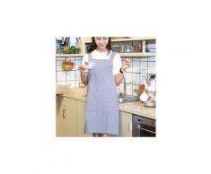 Femmes draps en coton croisé dans le dos tablier japonais cuisine housework wrap pinafore gy 2164