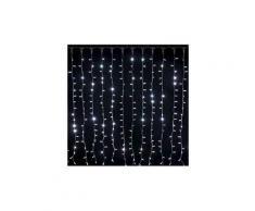 Rideau lumineux raccordable noël ixia - 2 x 1,5 mètres - blanc froid