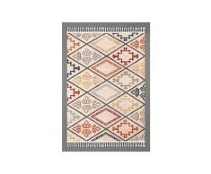 Tapis kilim 156 kilim rectangulaire multicolore
