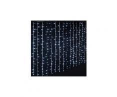 Rideau lumineux extérieur 300 led blanc froid - dim : l.150 x l.0,5 x h.200 cm -pegane-
